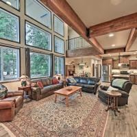 Expansive Group Lake House with Hot Tub & Pier!