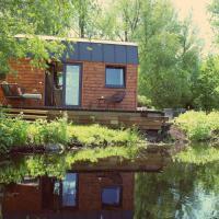 Tiny House met uitzicht over landerijen
