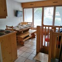 Charmant appartement 6-8 personnes au cœur du village à proximité lac et pistes de ski