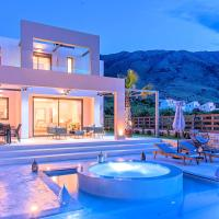 Minoas Villas Heated Pool
