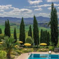 Casanova - Panoramic Rooms and Suites, hotell i San Quirico d'Orcia