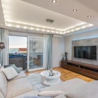 Luxury apartman SKY with sea view and whirlpool