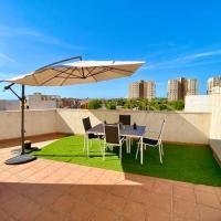 Ático El Campello terraza privada, wifi, parking, vacaciones Inmobiliaria Leo