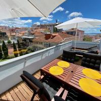 NEW Unique apartment in the center of Lisbon with views over the city and the Tagus river