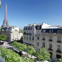Outstanding 2 bedrooms with a terrific Eiffel Tower view