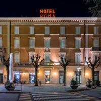 Hotel Roma, hotell i Porretta Terme