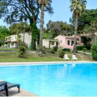 House with 2 bedrooms in San-Nicolao, with private pool, furnished garden and WiFi
