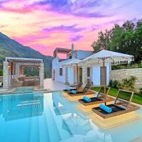 Blue Lake Villa Heated Pool, hotel in Georgioupoli