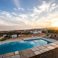 Villa Vitamin Sea with Heated Pool and Panoramic Sea View