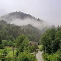 Apartament panoramic la munte, hotel in Rucăr
