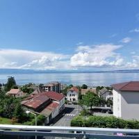 Appartement Evian 4 pers, magnifique vue sur le lac