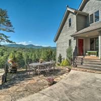 Hilltop Home w/ Panoramic Forest + Mtn Views!