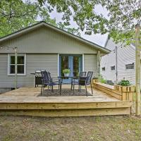 Charming Home with Deck, 2 Miles to Lake Michigan!