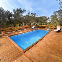 Marina di Andrano Holiday Home Sleeps 7 with Pool and Air Con