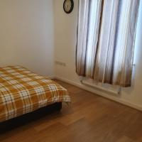 Newly built one large bedroom apartment in a quiet environment