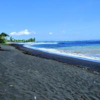 TAHITI - Taharuu Houses Surf & Beach, отель в городе Papara