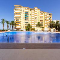 Apartamento primera linea playa Algarrobo Costa, отель в городе Альгарробо-Коста