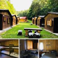 Rodinné ubytovaní v chatech Sruby Relax Živohošt´