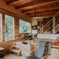 Bonita cabaña de los arboles en La Rioja , Durmiendo entre arboles