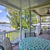 Fisherman's Lakefront Home w/Boat Lift + Deck