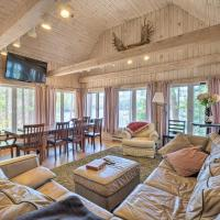 Quiet Waterfront Cabin with Dock and Game Room!