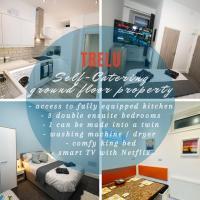Trelu - Self Catering Three Bedroom Ground Floor Property