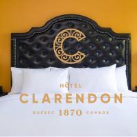 Hotel Clarendon, hotel in Quebec City