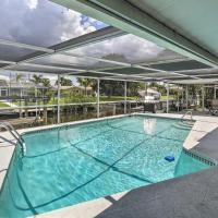 Canalfront Home with Dock&Pool, 5 Mi to Ft Myers