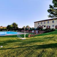 Podere Il Belvedere su Cortona, hotel a Castiglion Fiorentino