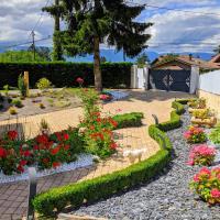 Chalet de TARA - Grand appartement esprit chalet - piscine chauffée - Genève, hôtel à Collonges-sous-Salève