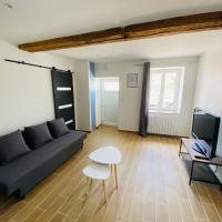 T2 atypique Genas - Proche Eurexpo, St Exupery, ZI mi-plaine, hôtel à Genas près de: Aéroport de Lyon - Saint-Exupéry - LYS