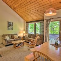 Village of Loon Mtn Condo with Fireplace and Balcony!