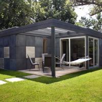 Cube-House Ferienhaus in Franken