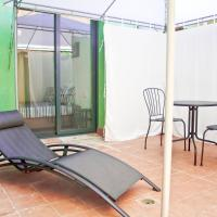 Urban Manesa city center loft with private patio