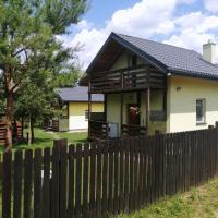 Domki nad jeziorem – hotel w mieście Dąbrówno