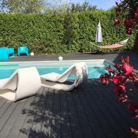 villa avec piscine en Provence dans un camping 5 étoiles