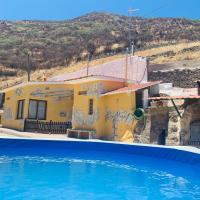 Casa Cueva Era del Centeno, hotel in Artenara