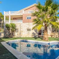 Villa with 5 bedrooms in Olivella, with wonderful mountain view, private pool, enclosed garden - 13 km from the beach