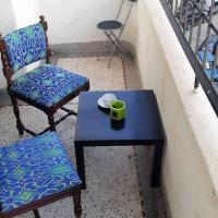 Apartment with one bedroom in Rabat with wonderful city view furnished garden and WiFi