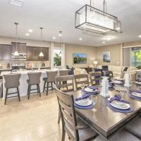Brand New Luxury 8Bdr 6Bath With Pvt Pool Hot tub, Game Room close to Disney Parks