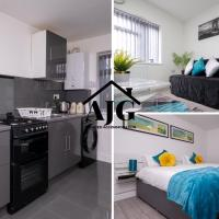 BOOK TODAY - 1 & 2 Bedroom Apartments Available with AJG Serviced Accommodation,Hodgehill Heights, Free Wifi and Car Park