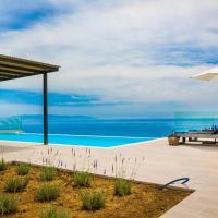 New Villa Blue with private pool at Trapezaki