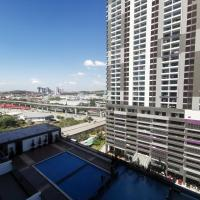 Landmark Residence 3-ROOM Family Suite 5min to MRT 20min to KL