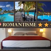 #Guadeloupe: Romantisme en bord de mer avec piscine & Plage