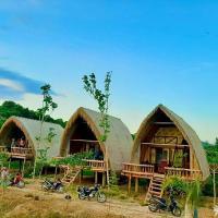 Rice straw Green lodge- resort, hotel in Quan Tom