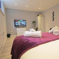 Amicus House - Spacious 4 Bedroom & 4 Bedroom Apartments in St. Helens, hotel in Saint Helens