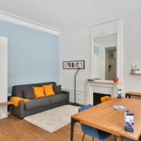 Typical studio close to Eiffel Tower and Arc de Triomphe in Paris - Welkeys