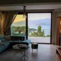 Albatross sea side Volos & Pelion view luxury apartment