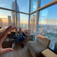 Самый высокий отель в Европе с лучшим видом на Москву - Say Wow Capsule Hotel