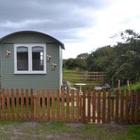 Shepherd's Hut at an Animal Sanctuary